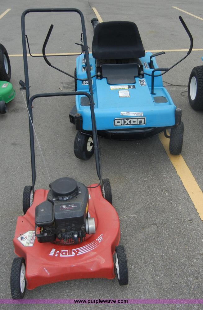 dixon 3303 zero turn lawn mower item a9980 sold august rh purplewave com Dixon ZTR 3303 Service Manual Dixon 3303 ZTR Tires