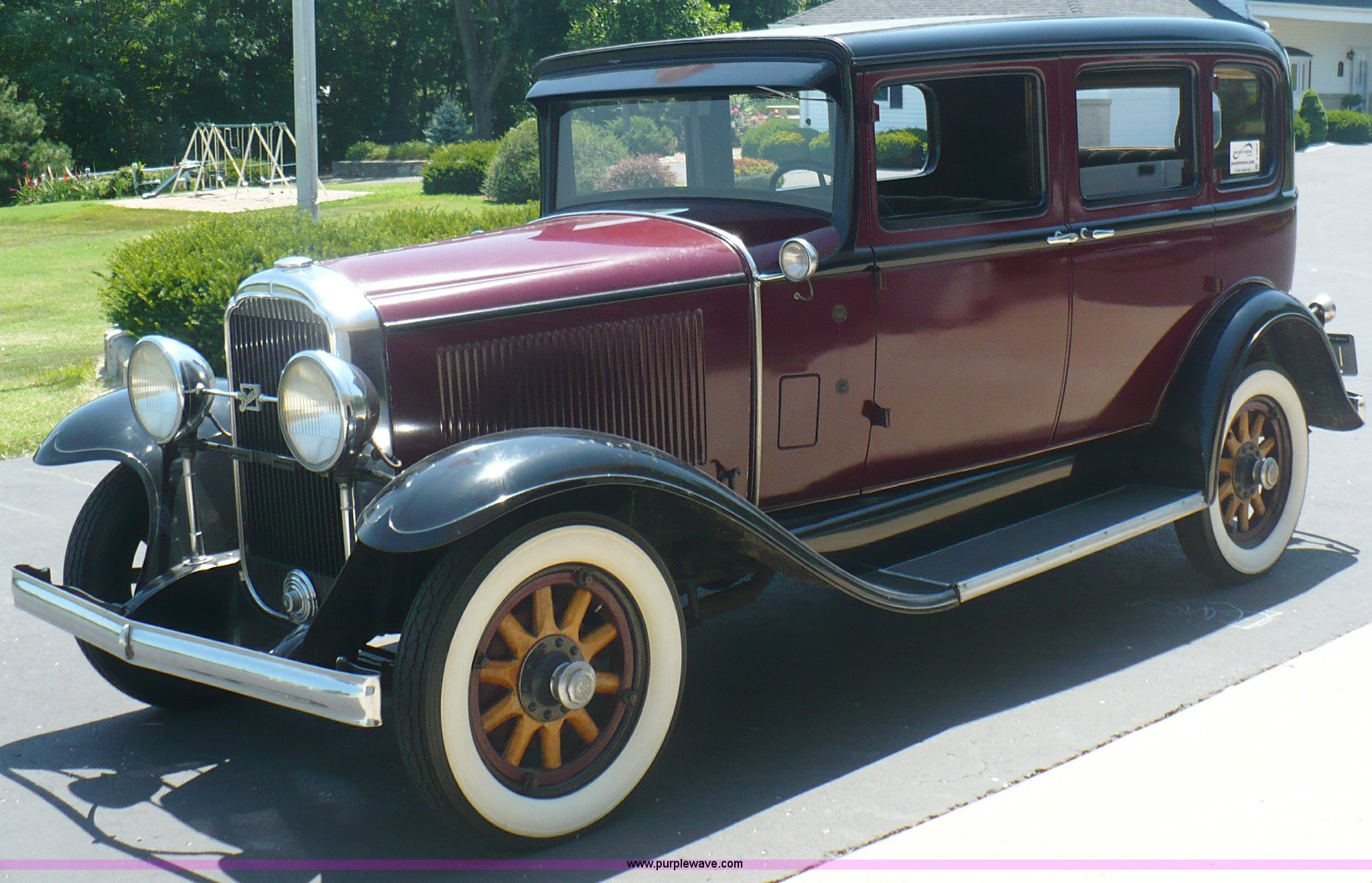 A4803 Image For Item A4803 1931 Buick Four Door Sedan