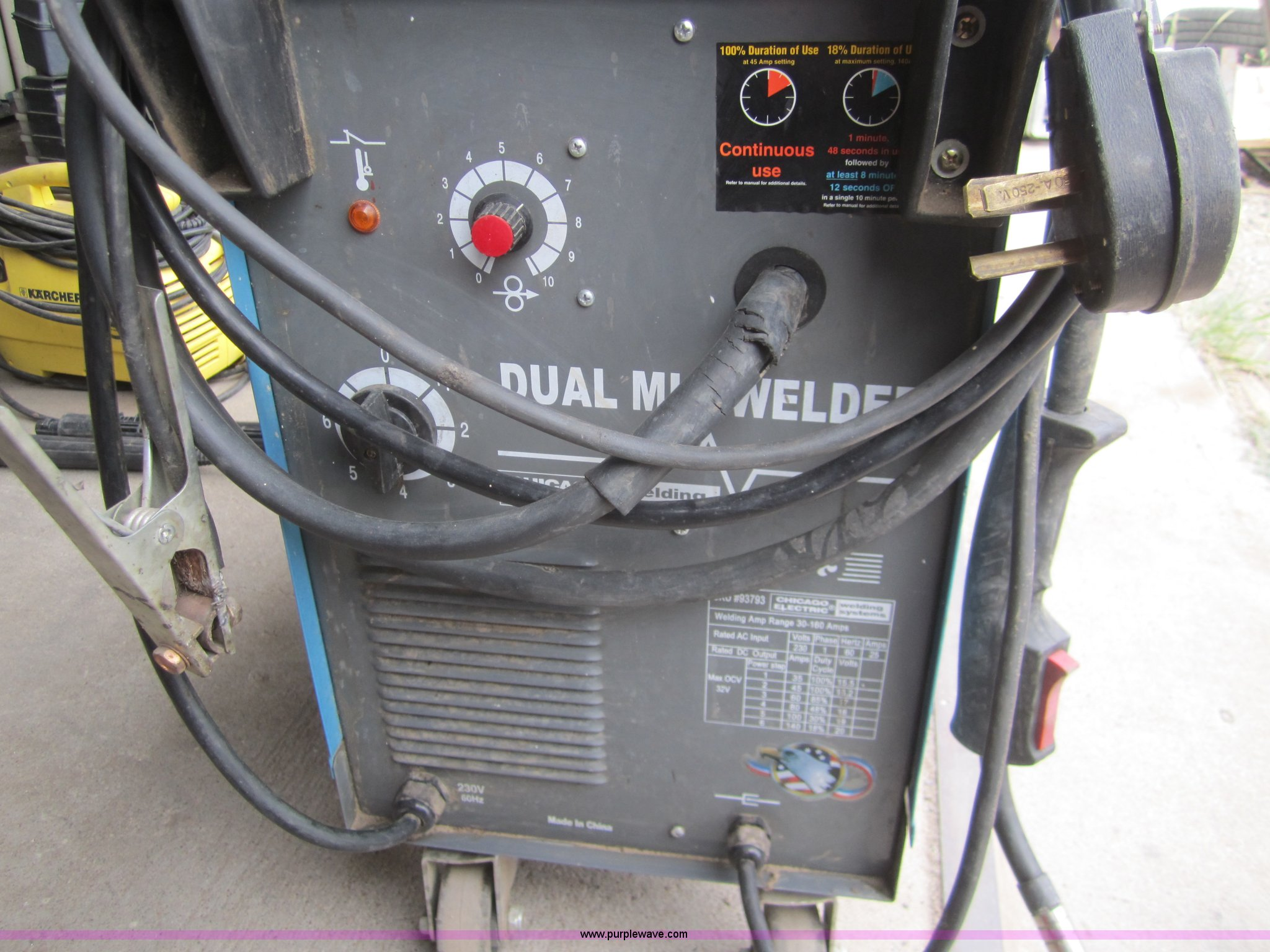 Chicago electric dual MIG welder | Item C9762 | SOLD! August