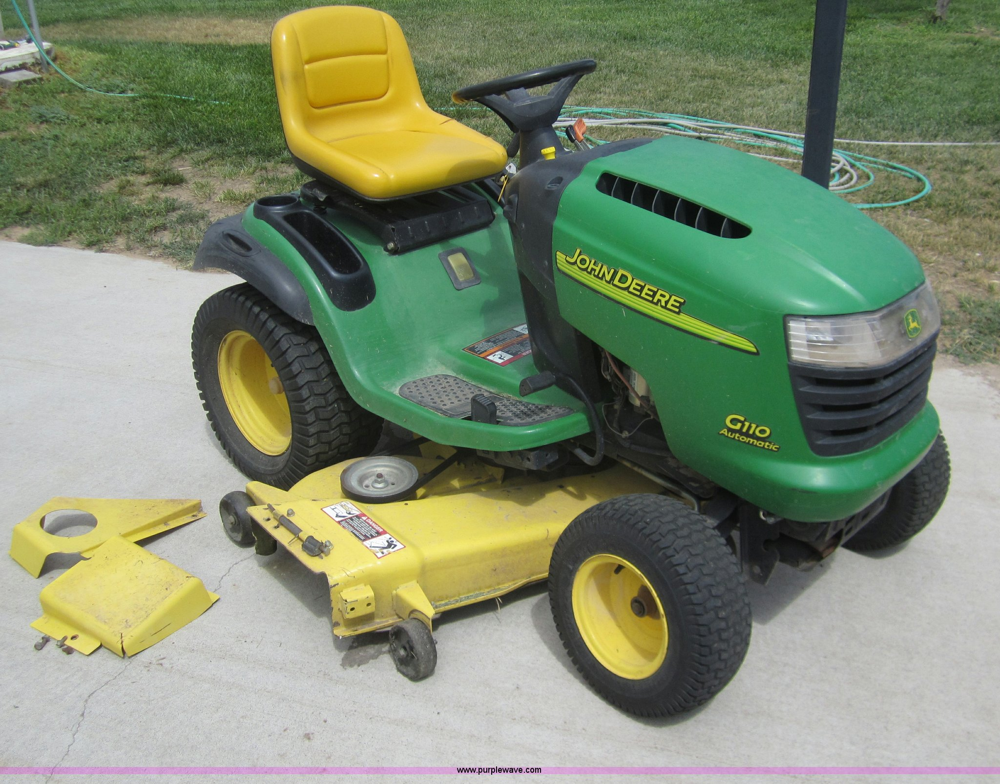 John Deere G110 Repair Manual Lx173 Wiring Diagram Automatic Lawn Mower Item C9777 Sold Au Rh Purplewave Com Parts Tractors