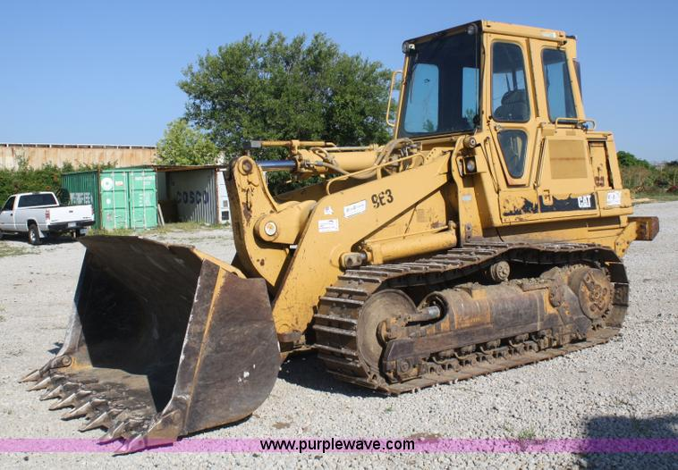 1993 Caterpillar 963 track loader | Item A2195 | SOLD! Augus