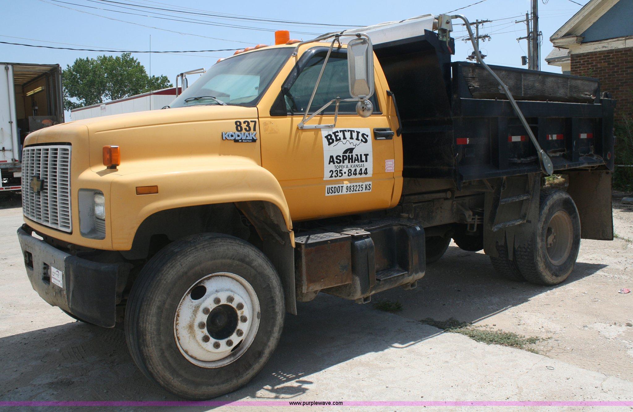 1993 Chevrolet Kodiak dump truck | Item A2181 | SOLD! August
