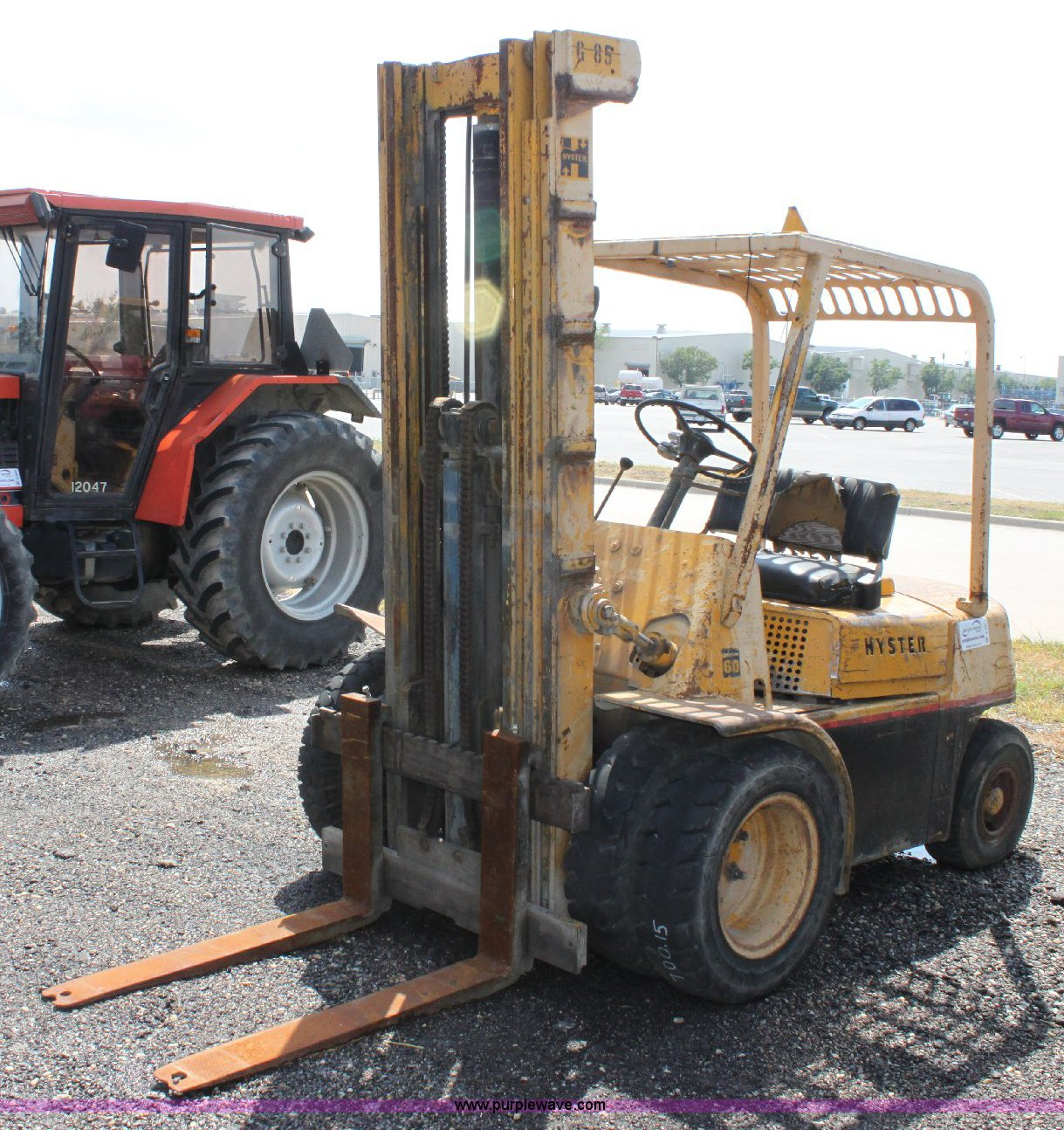 hyster challenger 60 forklift item a3607 sold august 31 rh purplewave com  Hyster 40 Manual Hyster H155XL2 Manual
