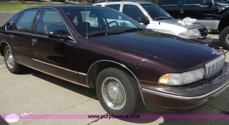 1995 Chevrolet Caprice Classic | Item D9510 | SOLD! Septembe