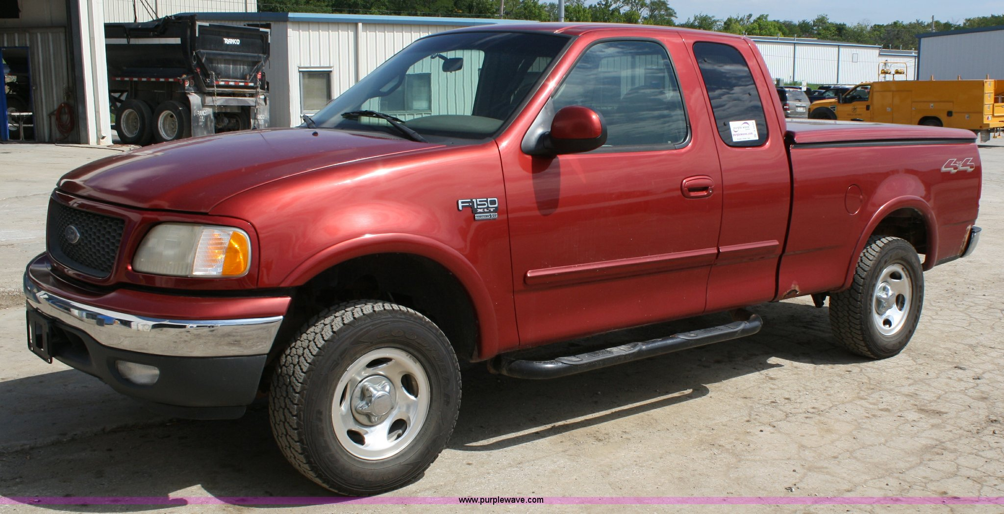 A2235 image for item a2235 2000 ford f150 extended cab