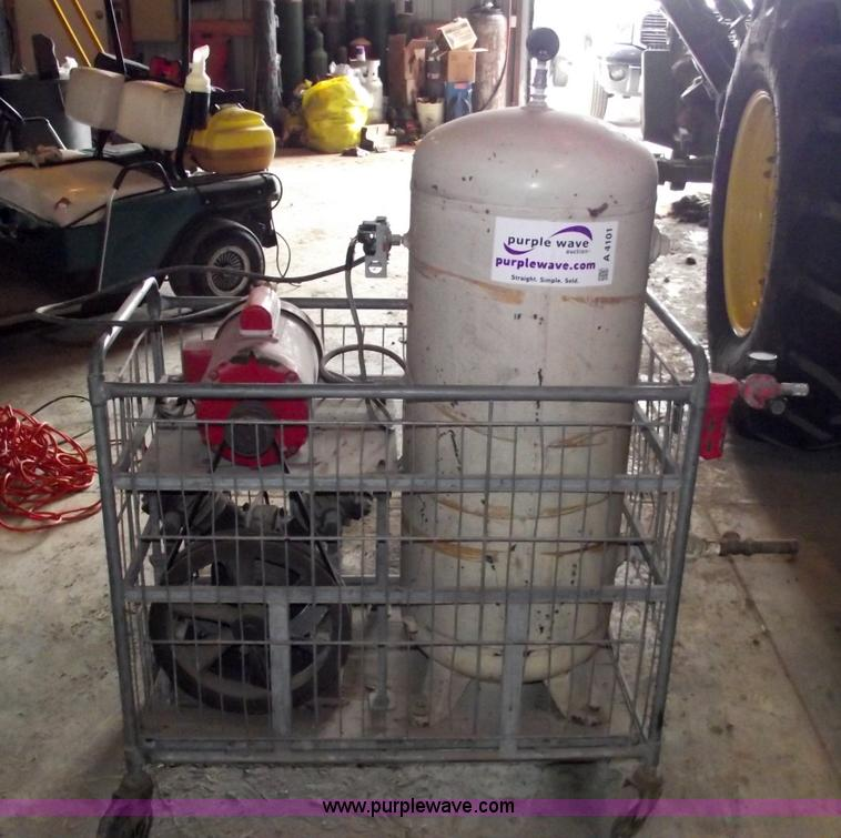Ingersoll Rand 234CH two stage electric air compressor   Ite