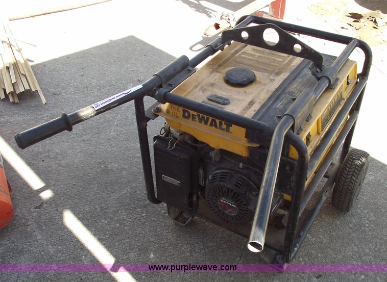 Dewalt Dg6000 Generator Item A9408 Sold September 15
