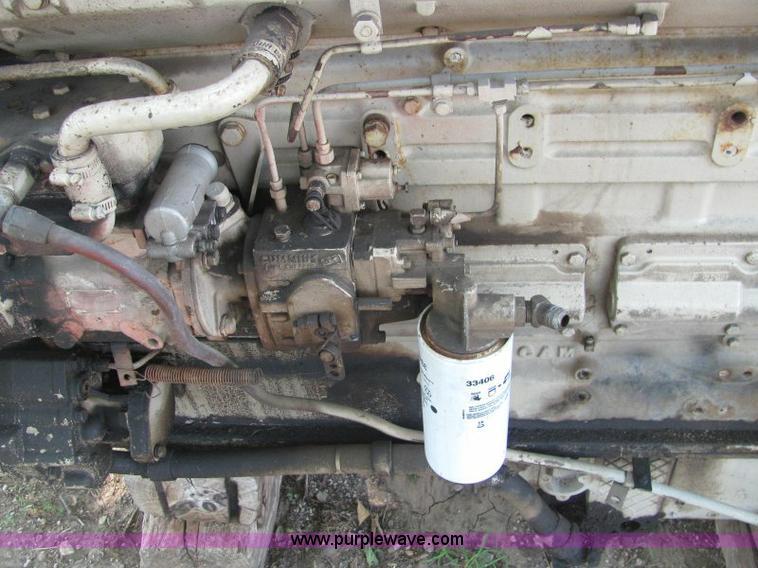 Cummins big cam 350 HP diesel engine | Item F9769 | SOLD! Se