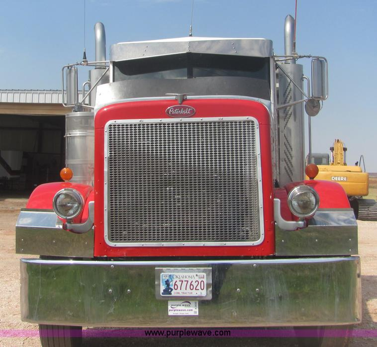 1990 Peterbilt 379 semi truck   Item A3535   SOLD! September