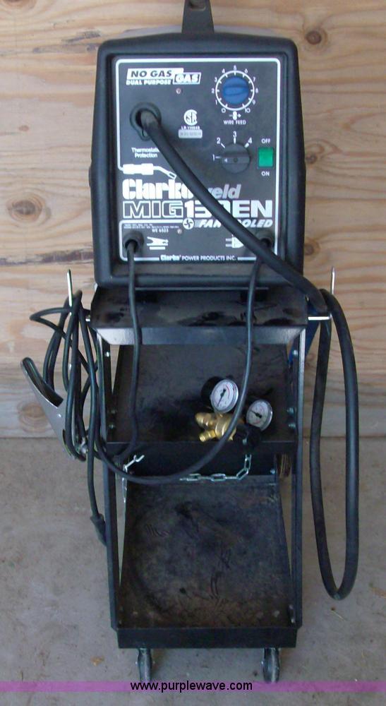 Clarke 130EN Mig welder   Item A1284   SOLD! September 21 ...