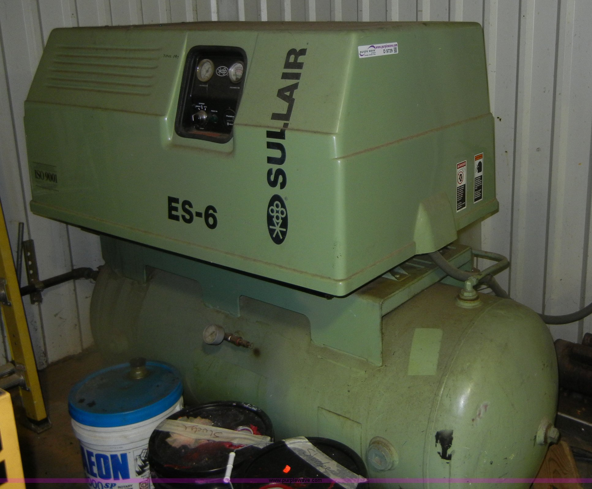 1998 sullair es 6 air compressor item d9729 sold septem rh purplewave com Sullair Manuals PDF Sullair Sec35e7.5 Manual PDF