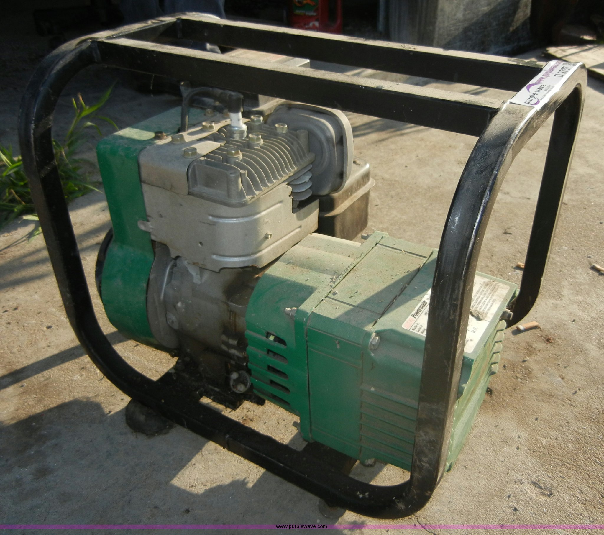 ... Coleman Powermate electric generator Full size in new window ...