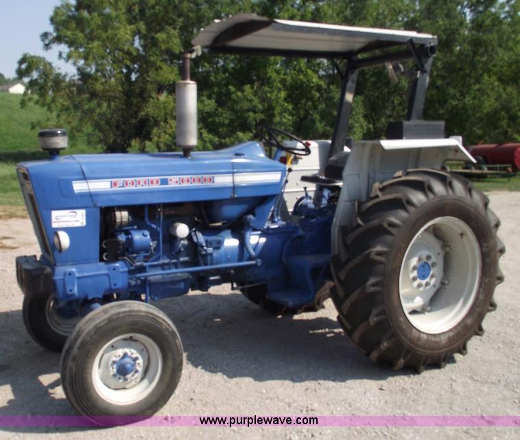 Ford 5000 Tractor Engine : Ford tractor item a sold september