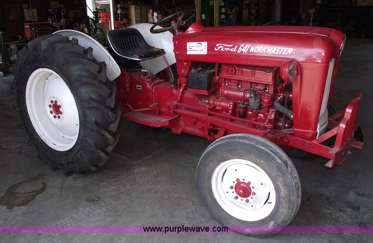 1960 Ford Tractor 601 : Ford work master tractor item a sold