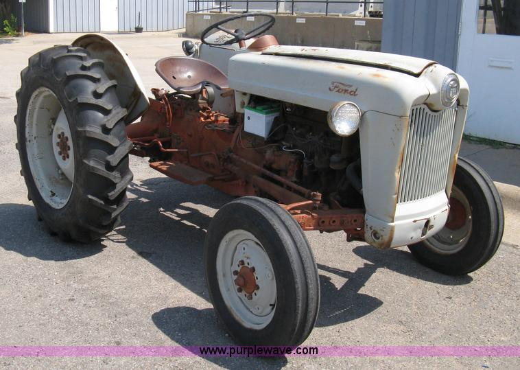 Ford Golden Jubilee Hydraulics : Ford naa golden jubilee tractor item a sold