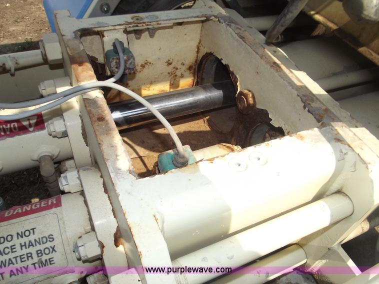 1996 Putzmeister TS2030 towable concrete pump | Item B5010 |
