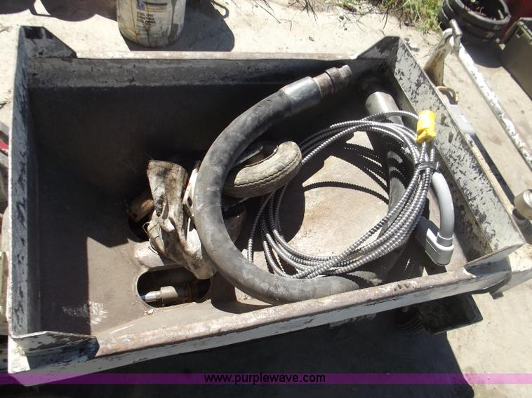 Mud Jacking Unit Item G9262 9 29 2011