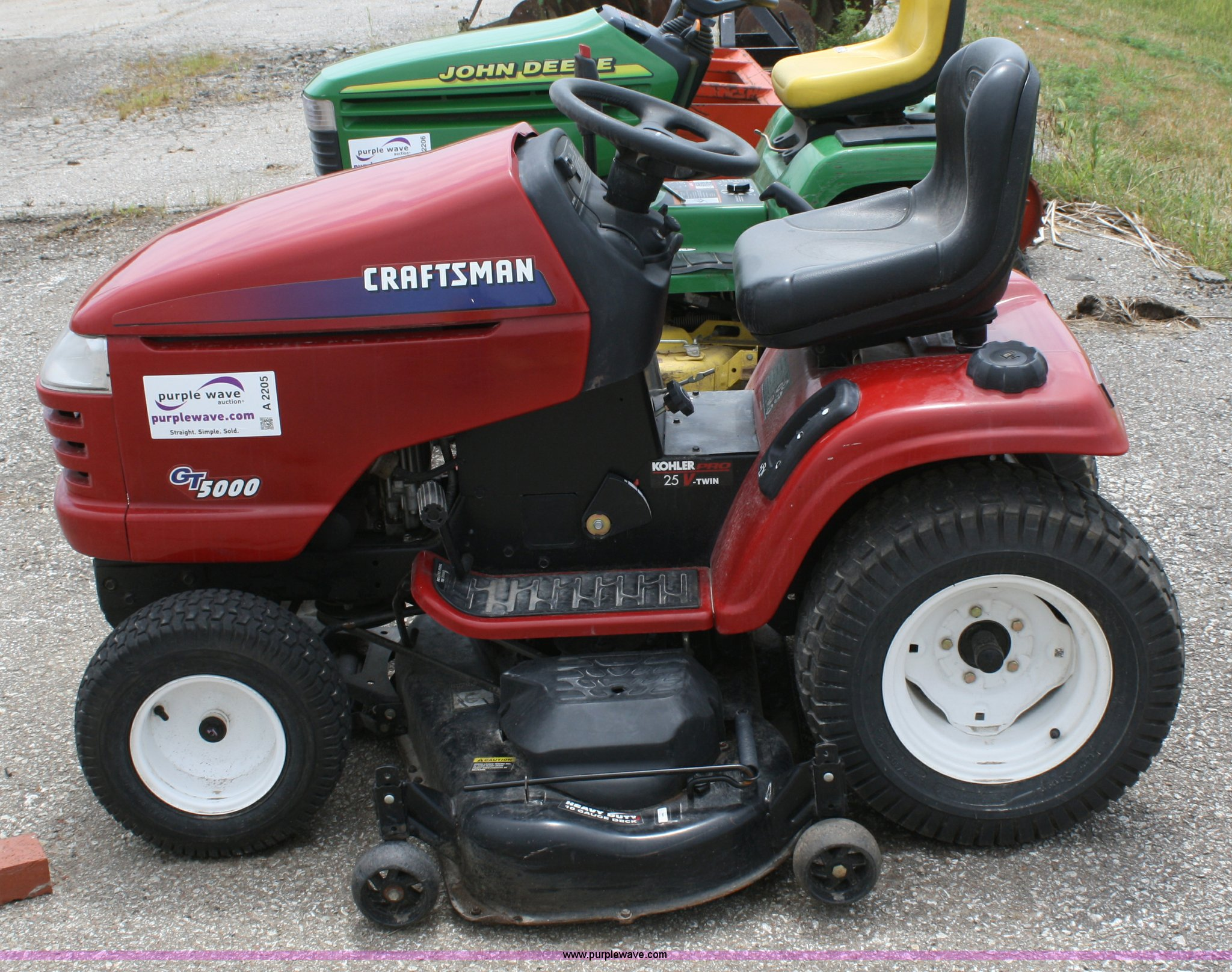 Craftsman Gt5000 Garden Tractor Review Garden Ftempo