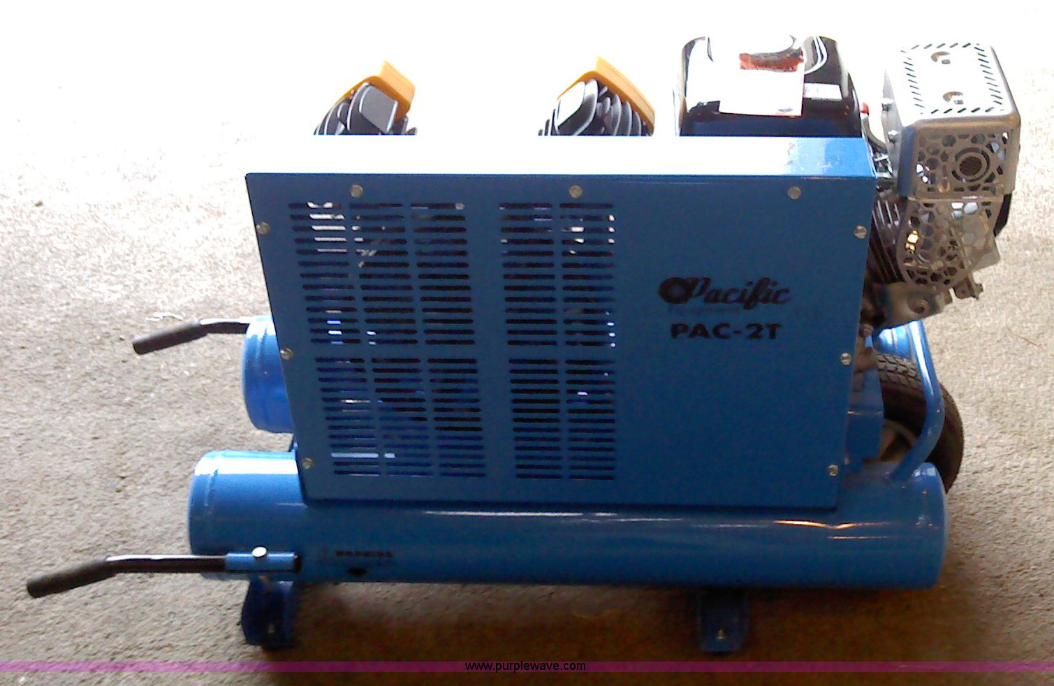 Pacific gas powered air compressor | Item A1323 | SOLD