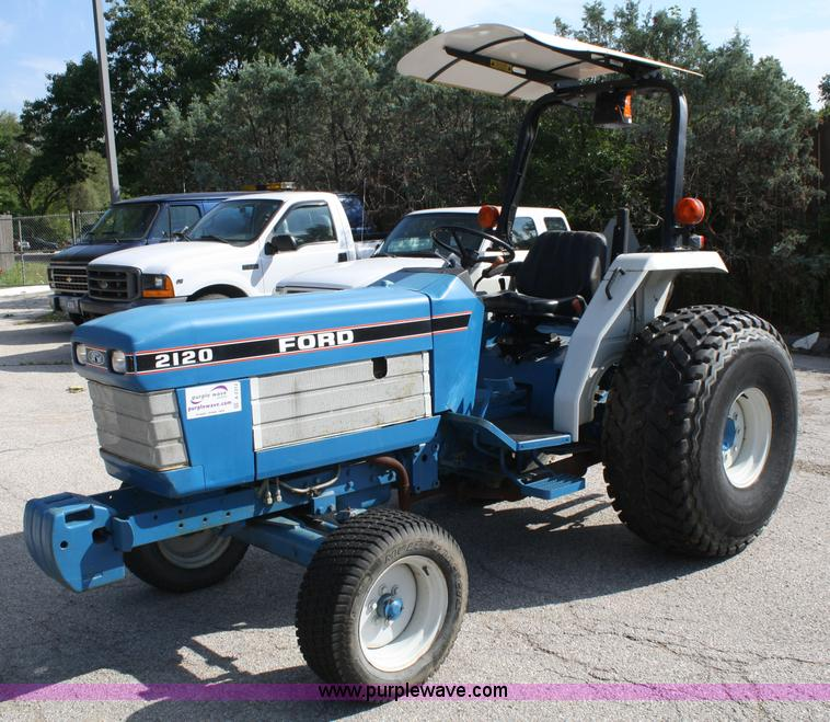 Ford 2120 Tractor : Ford tractor item a sold october