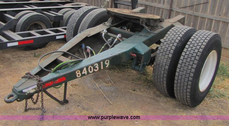 Single Axle Semi Trailer Dolly Item C9539 Sold