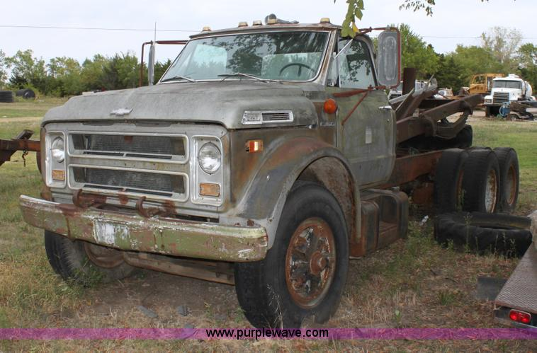 1969 Chevrolet C60 Truck Cab And Chassis