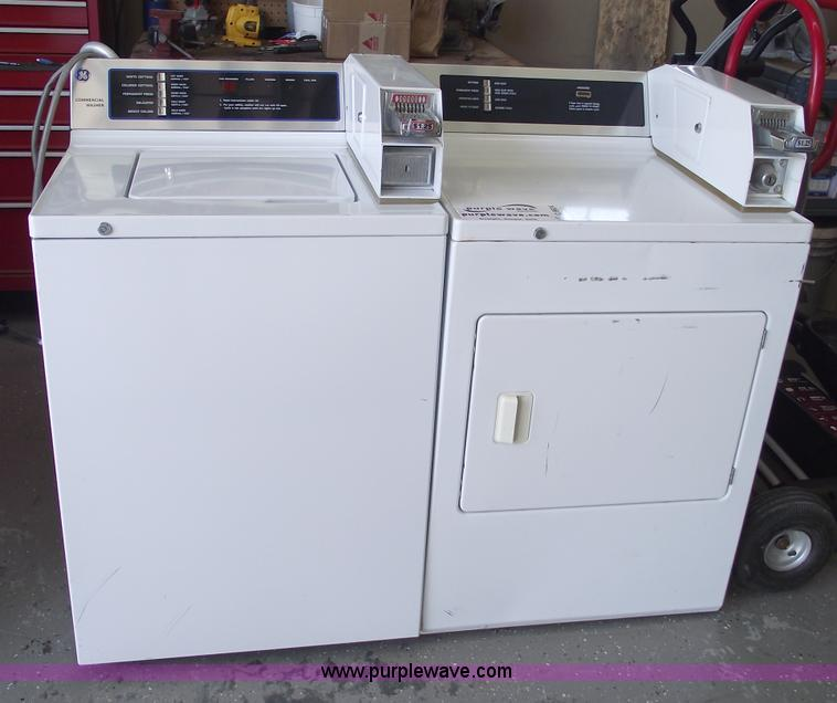 ge commercial dryer coin operated