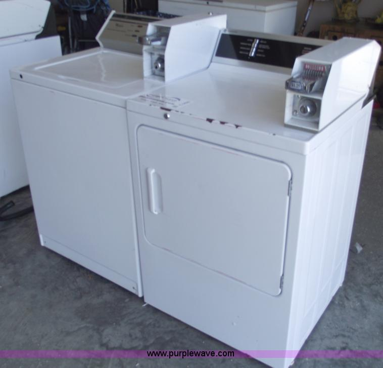 commercial coin washer and dryer