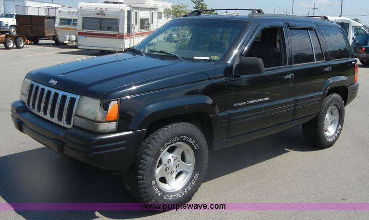1998 Jeep Grand Cherokee Laredo >> 1998 Jeep Grand Cherokee Laredo Se Suv Item D9683 10 19 2011