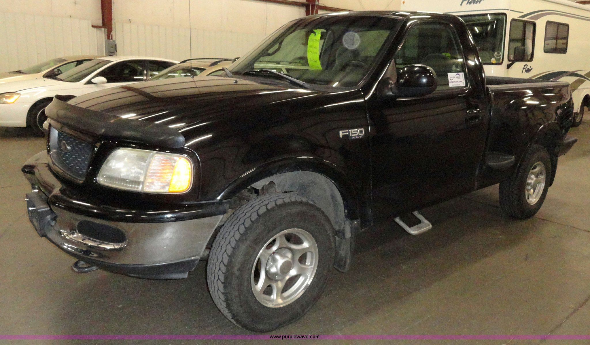 1998 Ford F150 Xlt Step Side Pickup Truck In Topeka Ks Item A3204 Sold Purple Wave
