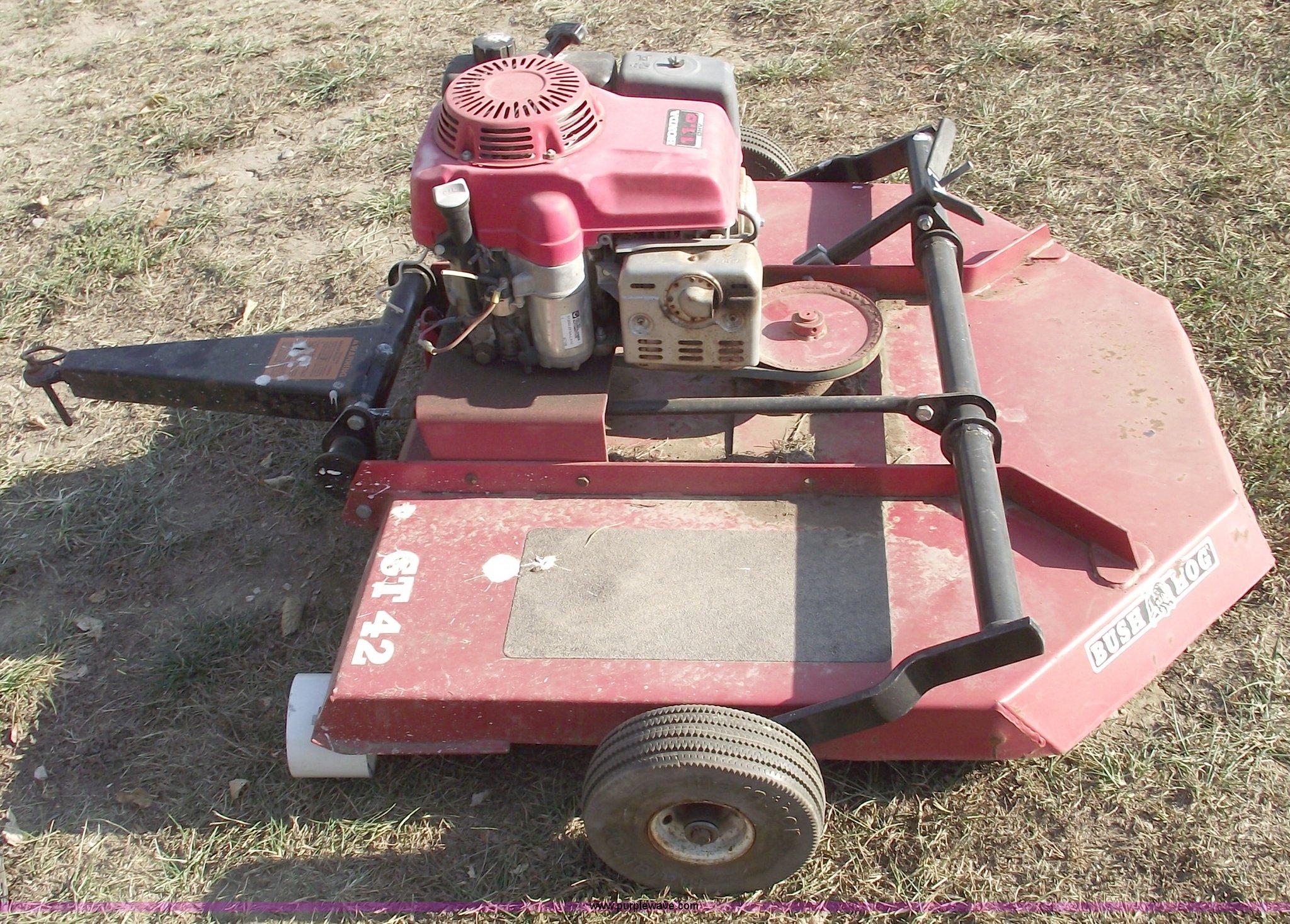 Bush Hog Gt42 Pull Behind Mower Item C5663 11 2 2011