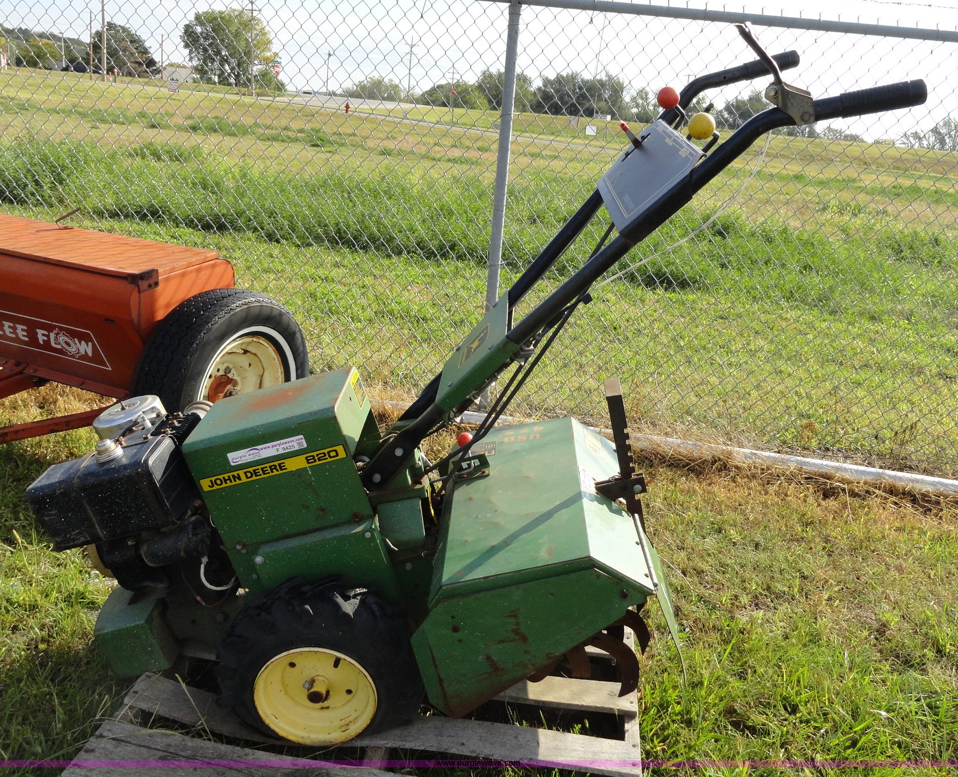 john new lawn mower rear deere item with sale in full size tiller window garden auction sol for