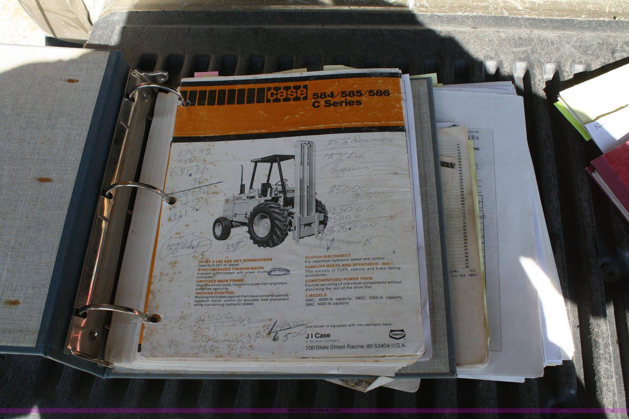 1978 Case 584C forklift | Item A6502 | SOLD! November 10 Con