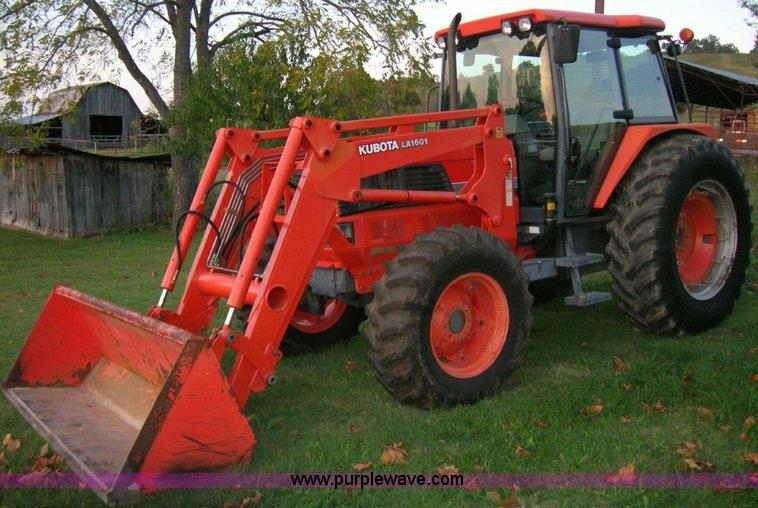 2002 Kubota M120 Mfwd Tractor With Loader Item A1495