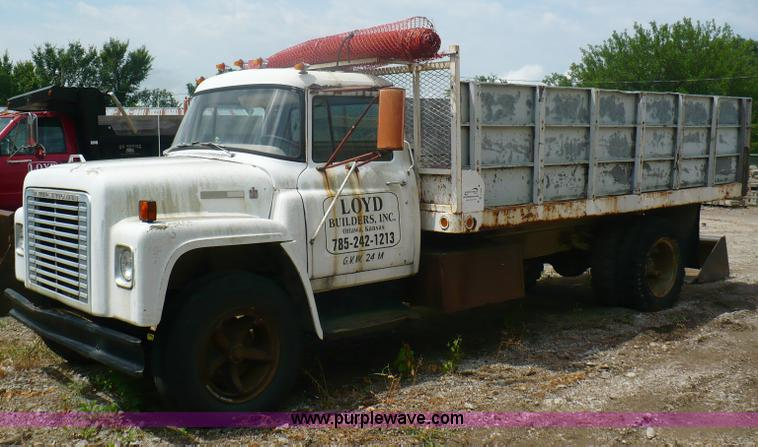 1974 International Loadstar 1600 Dump Truck Item A4840