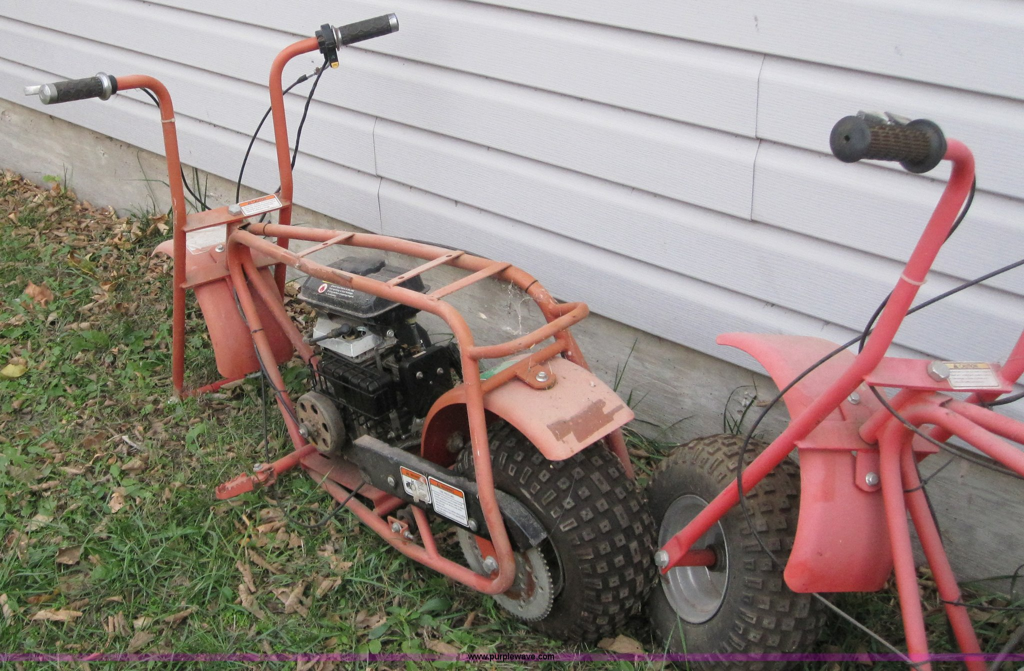 3) Baja Doodlebug mini bikes | Item A1543 | SOLD! November