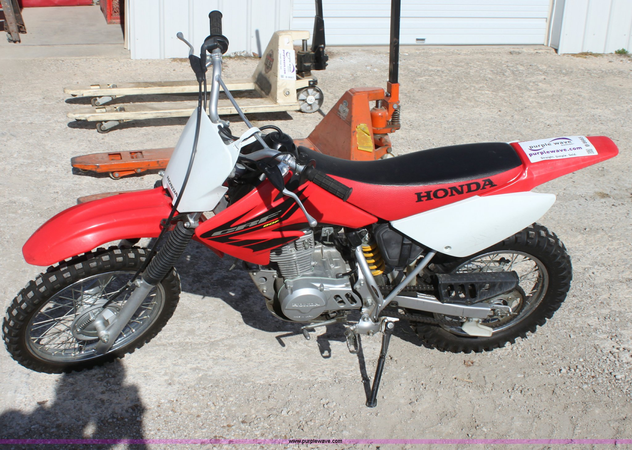 Honda CRF 80cc dirt bike | Item B8665 | SOLD! November 30 Mi