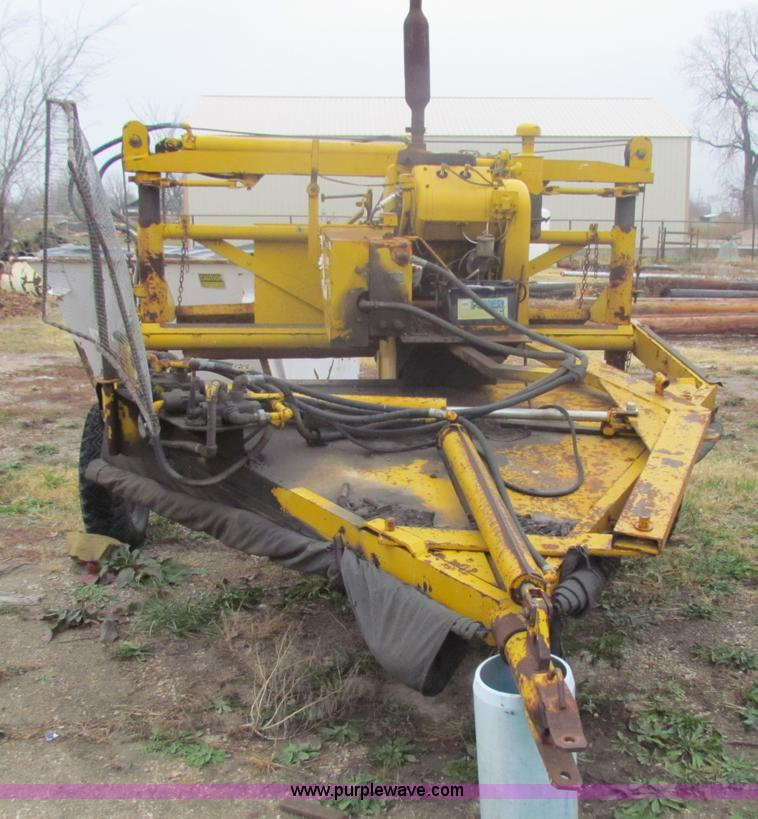 Vermeer Stump Grinder For Sale >> Vermeer VG40 stump grinder | Item B7008 | 12-6-2011