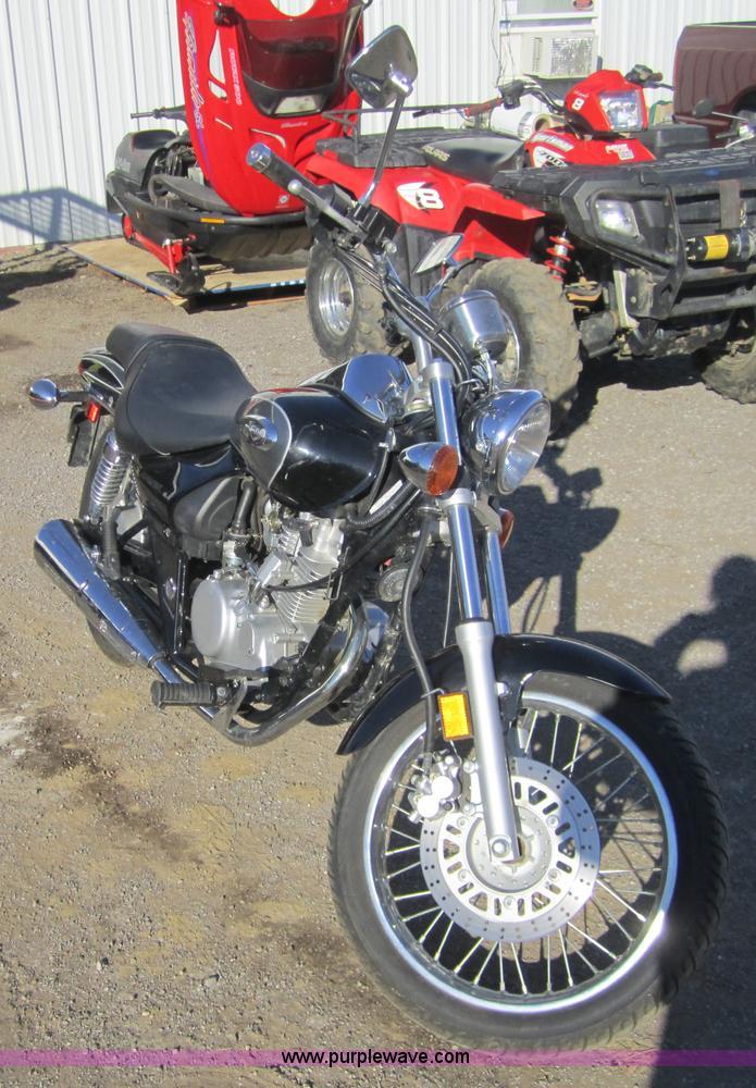 2002 Kawasaki Eliminator 125cc Motorcycle Item B9044 Sol
