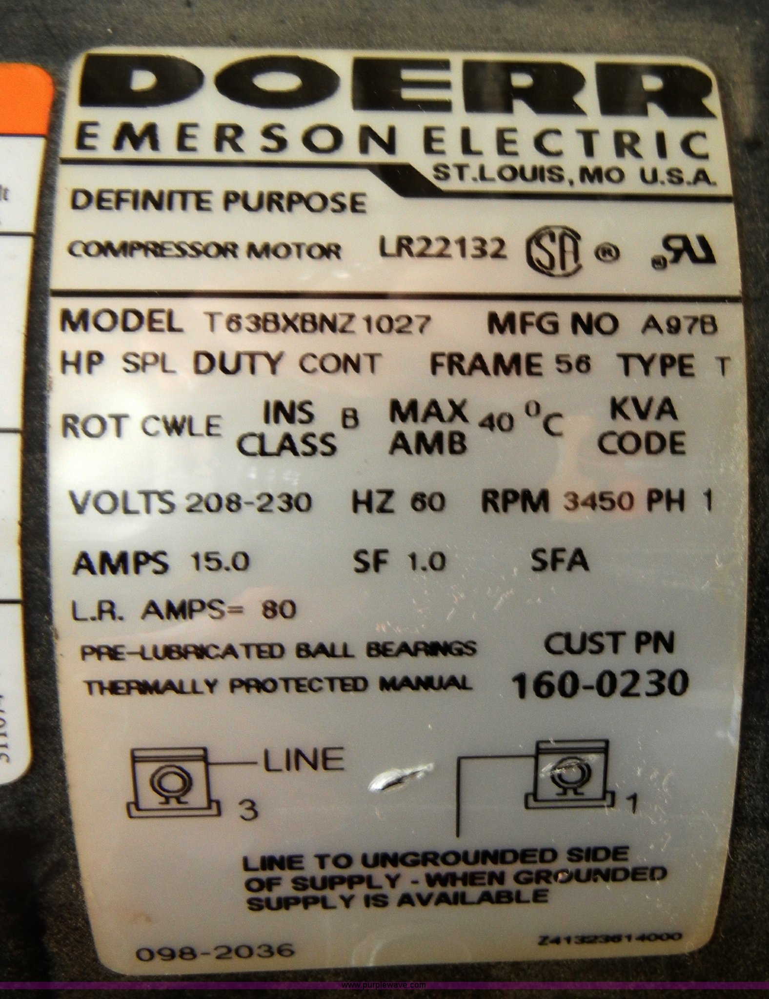 Doerr Motor Lr22132 Manual Pollfreedom Dayton Wiring Diagram