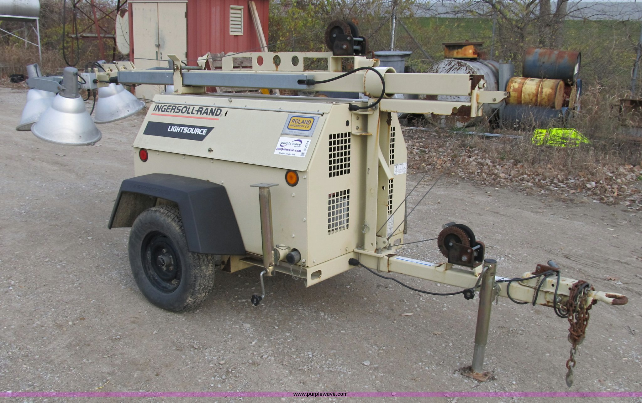 ... Ingersoll Rand Lightsource portable light tower Full size in new window  ...