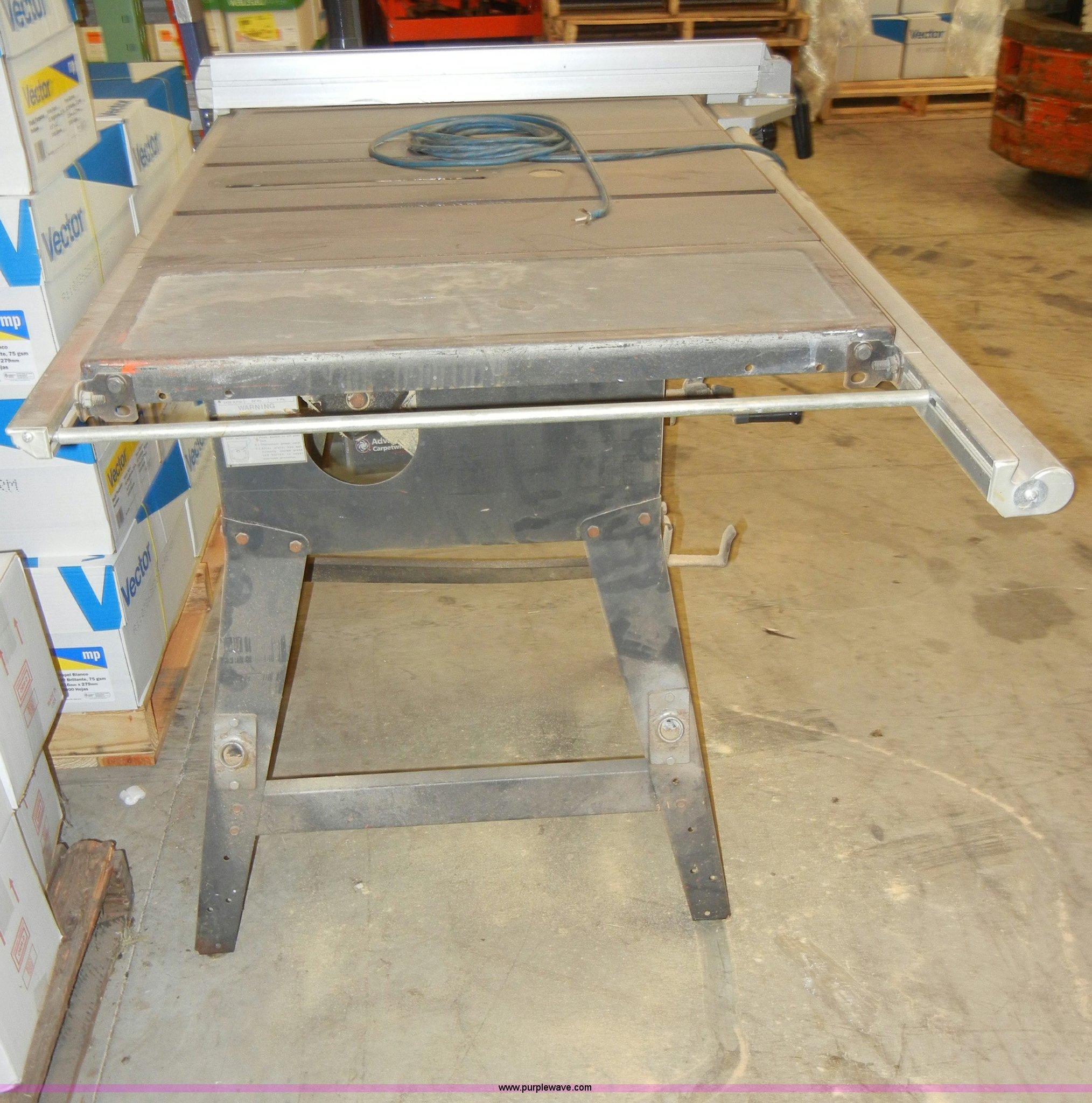 Craftsman Xr2424 12 Table Saw Item H9184 Sold Jan