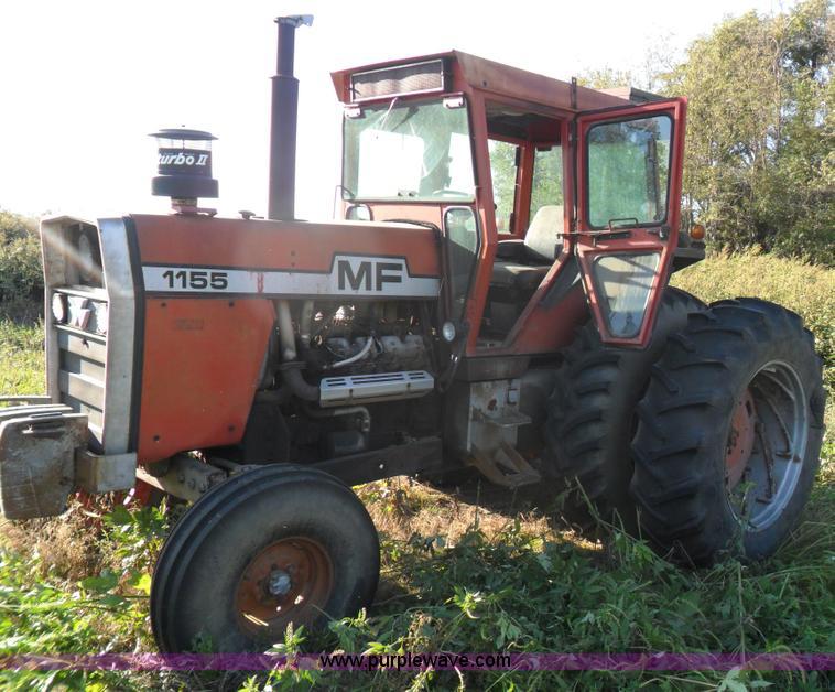 Massey-Ferguson 1155 tractor | Item A1735 | SOLD! January 11