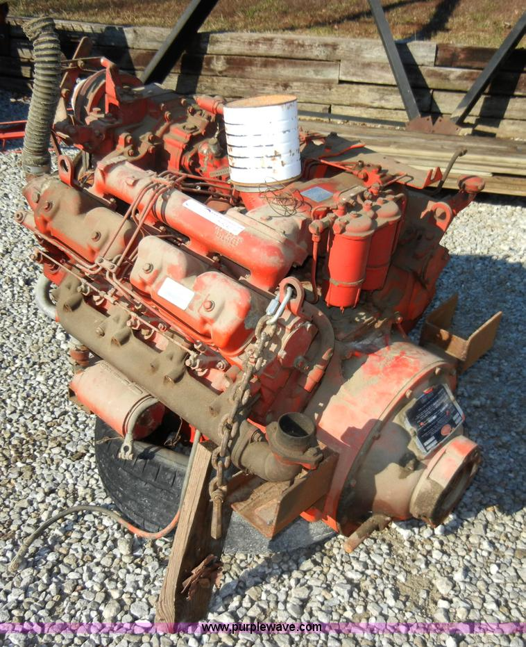 Perkins 540 V8 diesel engine | Item H9242 | SOLD! January 11