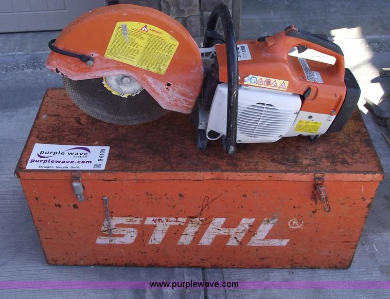 Stihl TS400 hot saw | Item B6109 | SOLD! January 25 Midwest