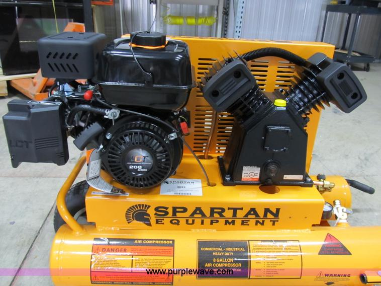 Spartan Sac 2t Industrial Air Compressor Item D9257