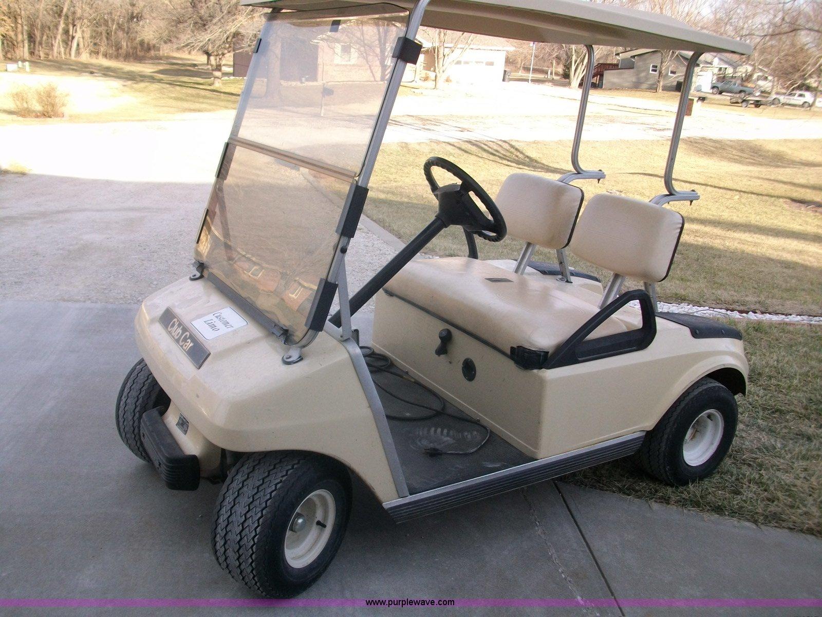 1993 club car electric golf cart item a1809 sold januar rh purplewave com HP Laptop User Manual HP Laptop User Manual