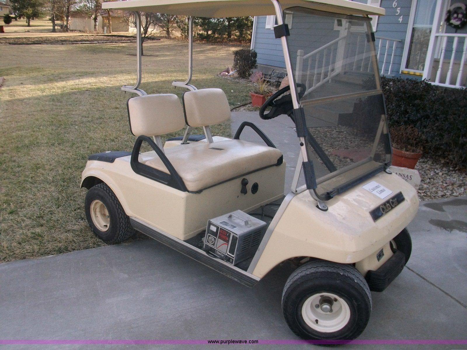 1993 club car electric golf cart item a1809 sold januar rh purplewave com User Manual Smart Car Auto Manual