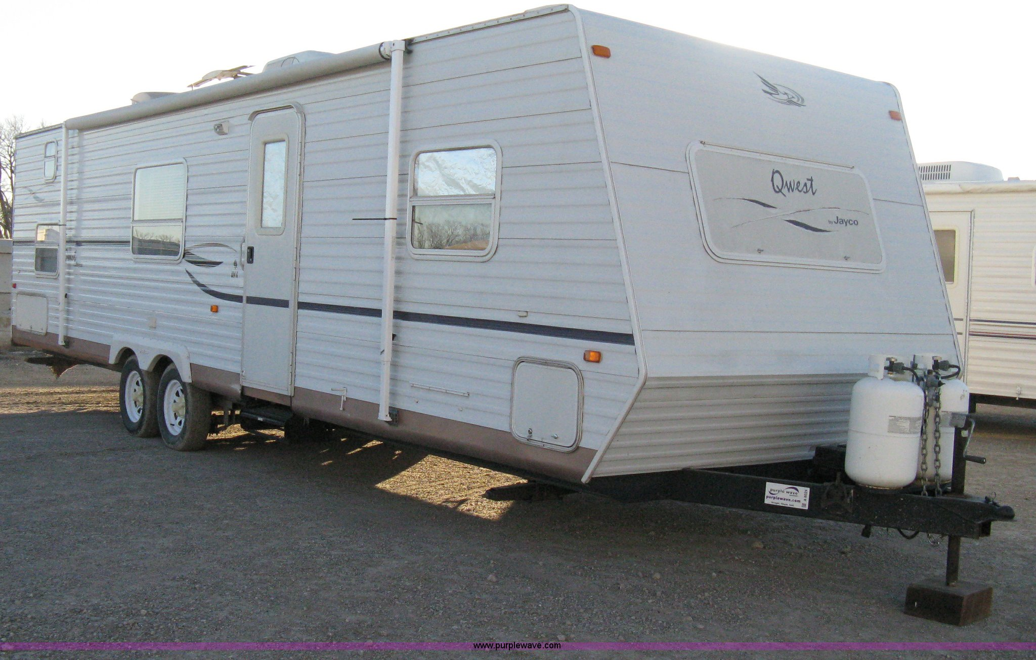 ... 2003 Jayco Qwest 324G camper trailer Full size in new window ...
