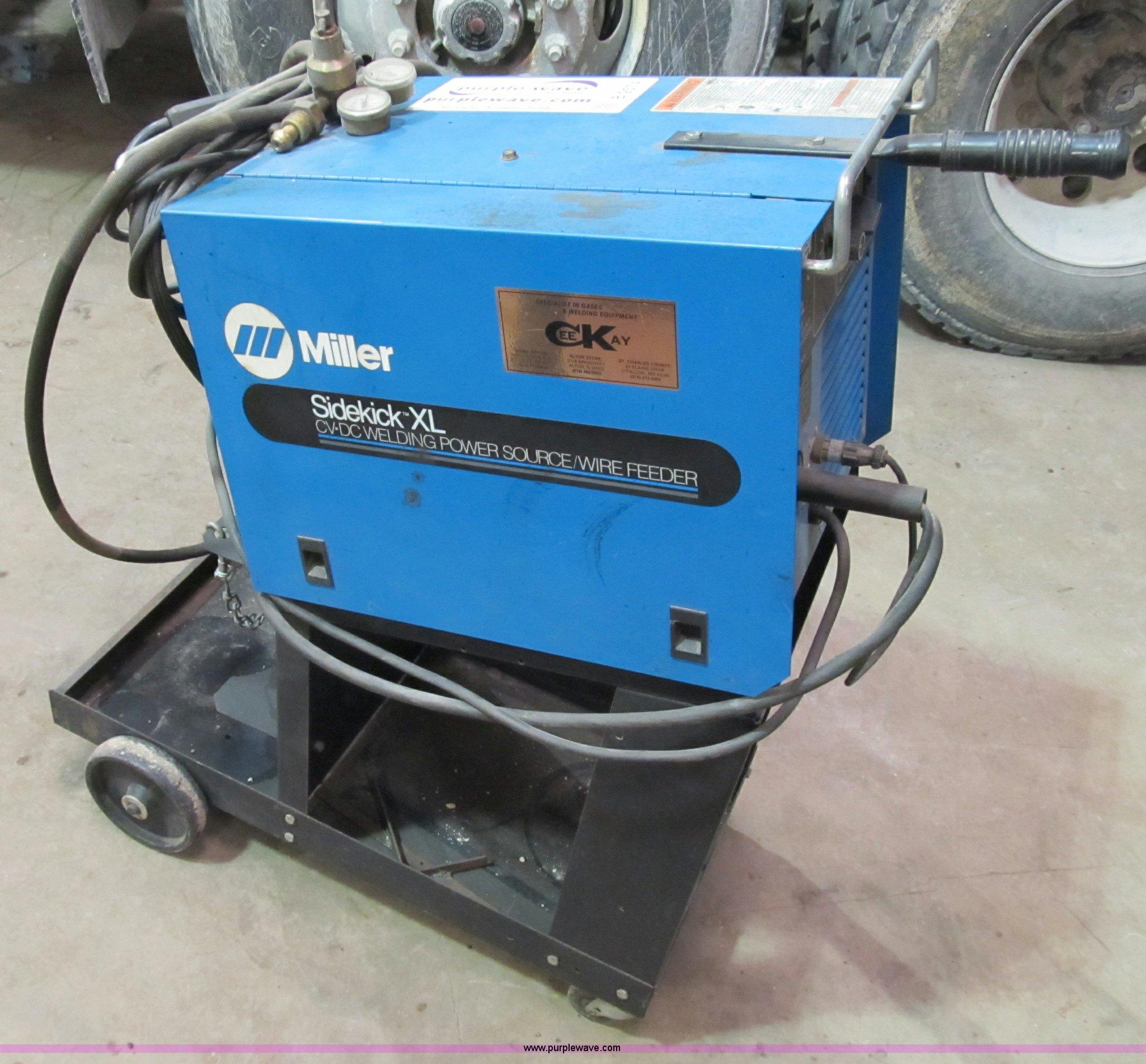 Miller Welders For Sale >> Miller Sidekick XL welder | Item B2574 | SOLD! January 25 M...